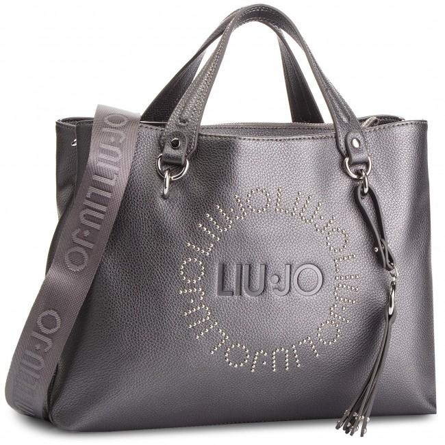 Handbag LIU JO - M Satchel Colorado N68205 E0037 Grape juice Met ... 96a1dec2ca2