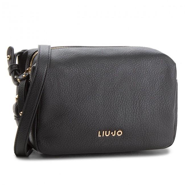Handbag LIU JO - Xs Crossbody Baron A68140 E0059 Nero 22222 - Cross ... 139f18706fc