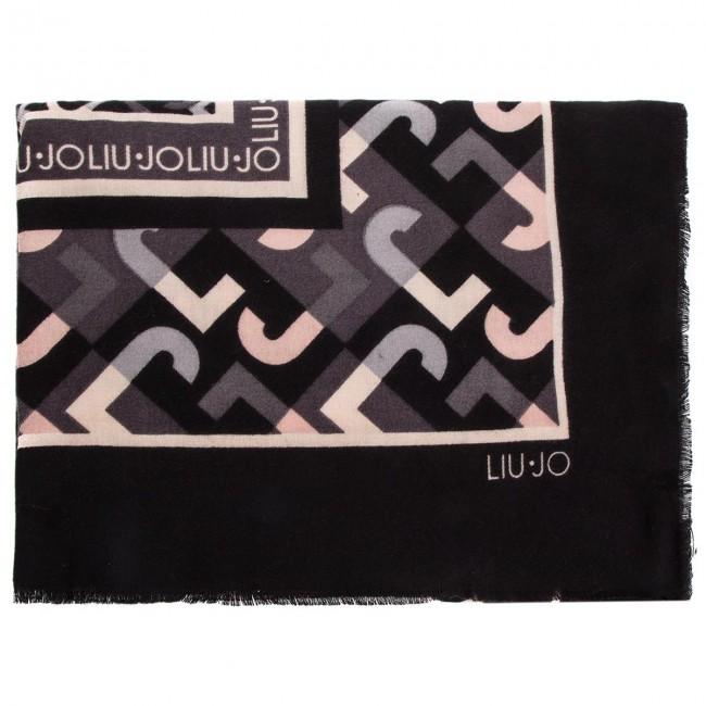Head-scarf LIU JO - Foulard Geometric L N68315 T0300 Nero 22222 ... 5e29c8ba12a