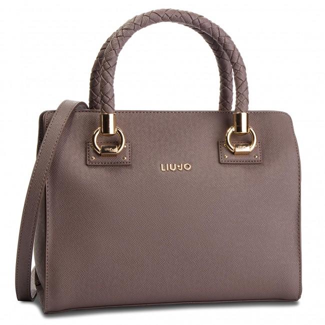 Handbag LIU JO - M Satchel Manhattan N68100 E0087 Ginger 81306 ... 211a8c55fe2
