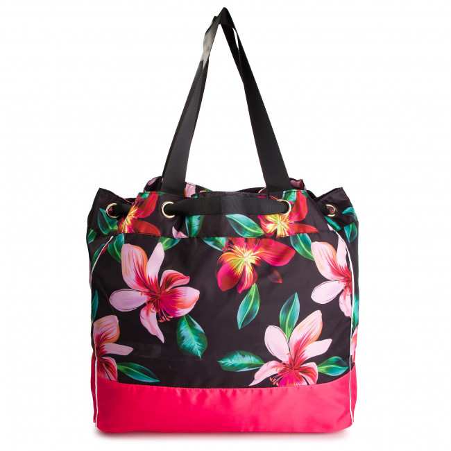 Handbag LIU JO Borsa Stampata Mani V19125 T5203 St.FioreNero U9035