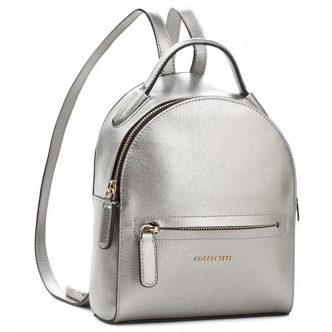 704ca60e90f8e Backpack COCCINELLE - AF5 Clementine E1 AF5 54 01 01 Silver 169 ...