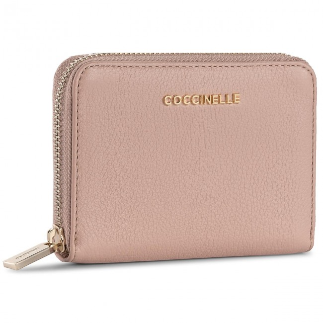 Large Women s Wallet COCCINELLE - BW5 Metallic Soft E2 BW5 11 02 01 ... 6bfad094217