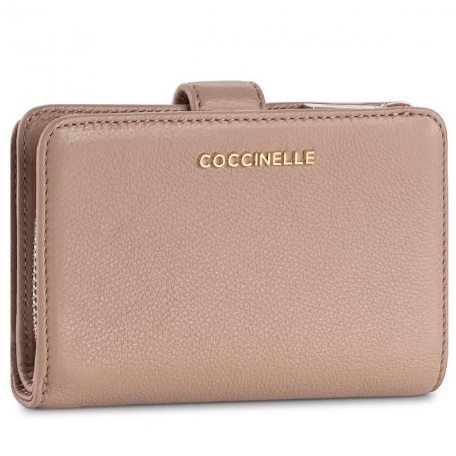 a902c925b4fbf Large Women s Wallet COCCINELLE - BW5 Metallic Soft E2 BW5 11 67 01 ...
