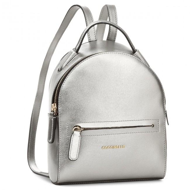 e7175b0e8532d Backpack COCCINELLE - BF5 Clementine E1 BF5 54 01 01 Silver 169 ...
