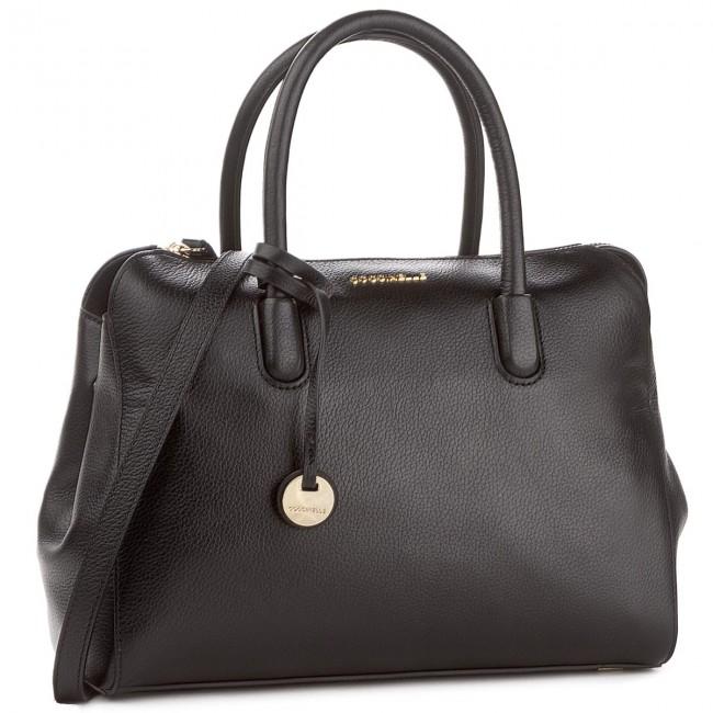 208745a767c0e Handbag COCCINELLE - BF8 Clementine Soft E1 BF8 18 01 01 Noir 001 ...