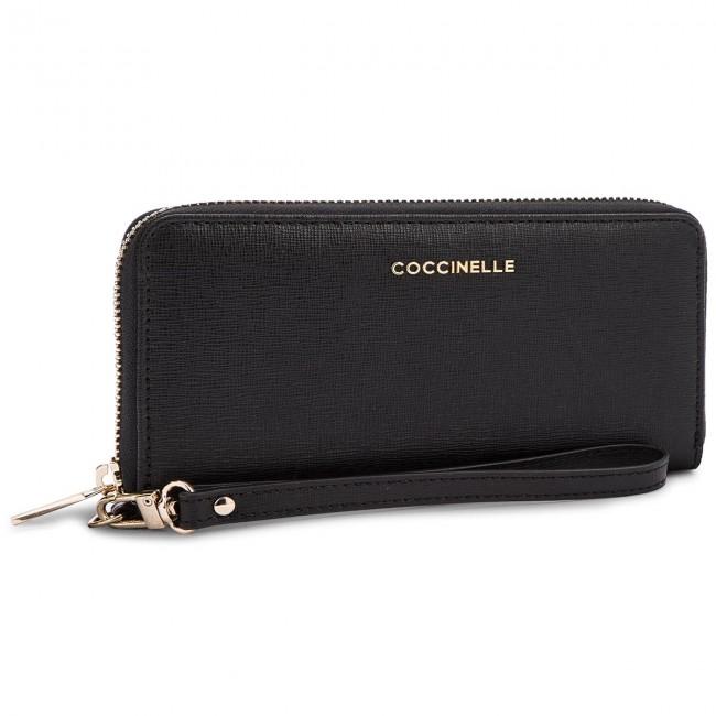 4bb637e3a8 Large Women s Wallet COCCINELLE - BW1 Metallic Saffiano E2 BW1 11 05 ...