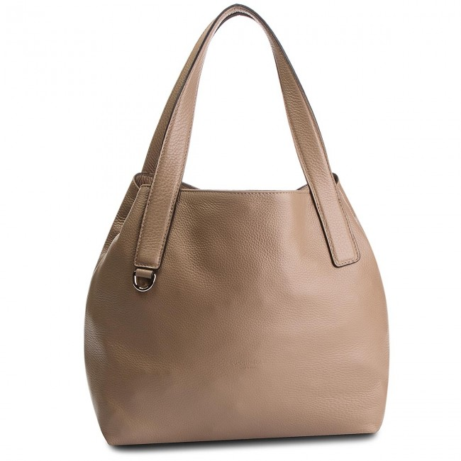 a2e2c89078f20 Handbag COCCINELLE - DE5 Mila E1 DE5 11 02 01 Taupe N75 - Canvas ...