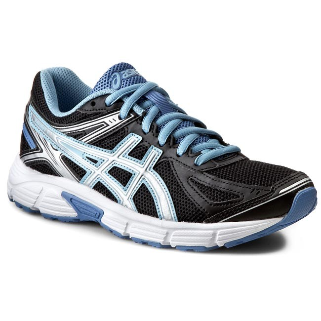 ASICS Running PATRIOT 7 White Powder Blue Silver