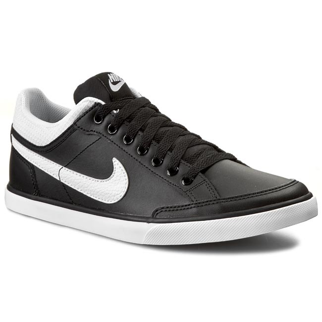 Sneakers Capri Low Nike 579622 Shoes Iii Lthr Blackwhite CqFH80