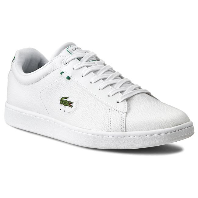 6076acfb0a86 Sneakers LACOSTE - Carnaby Evo Htb Spm 7-29SPM2030082 White Green ...