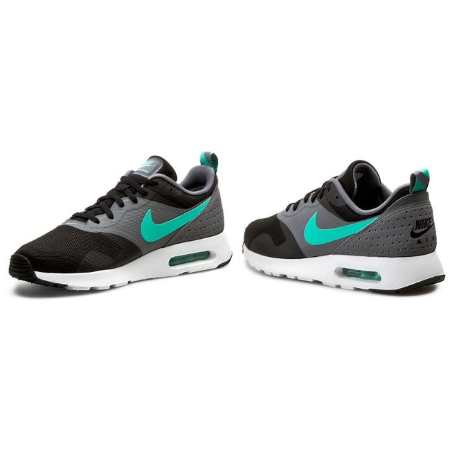 shoes nike air max tavas essential 725073 black menta cool grey cl