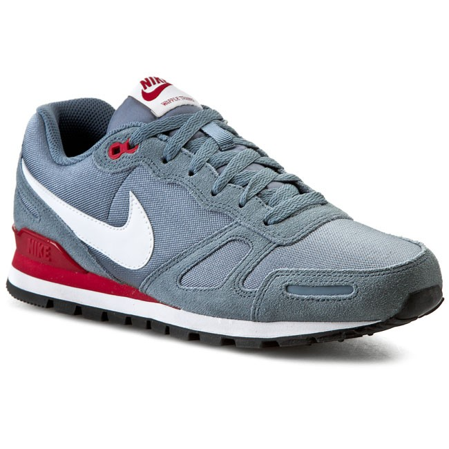 Shoes NIKE - Air Waffle Trainer 429628 407 Blue Graphite/White/Gym Red