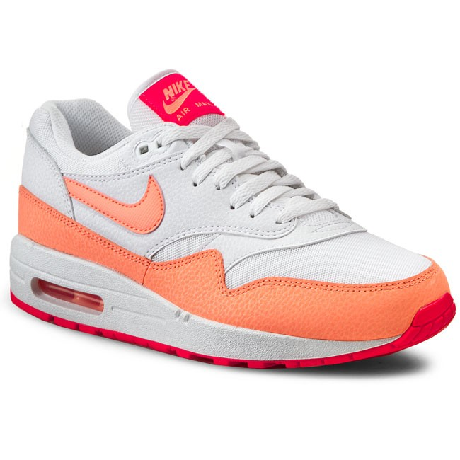 cheap for discount 51747 83947 Shoes NIKE. Air Max 1 Essential 599820 114 White Sunset Glow Hot Lava