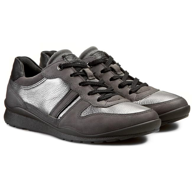 Ecco Leather Formal Shoes Black S 64052401001 for Men