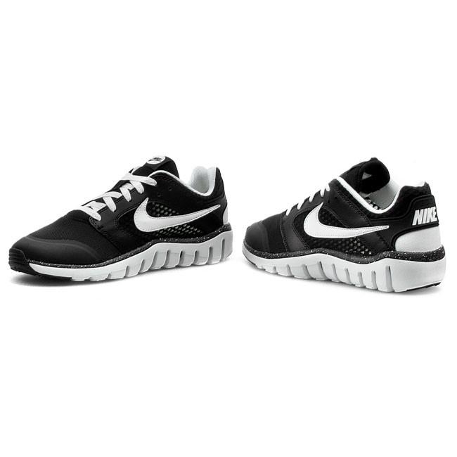 shoes nike flex raid 724716 010 black white