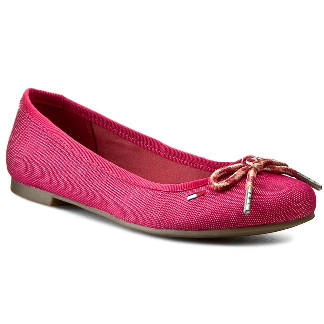 e5a5cce1 Flats TOMMY HILFIGER - DENIM - Allen 11D EN56818715 Faded Rose 691 ...