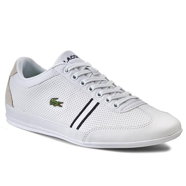 Sneakers LACOSTE - Misano Sport Htb Spm 7-29SPM202414X White/Light Grey