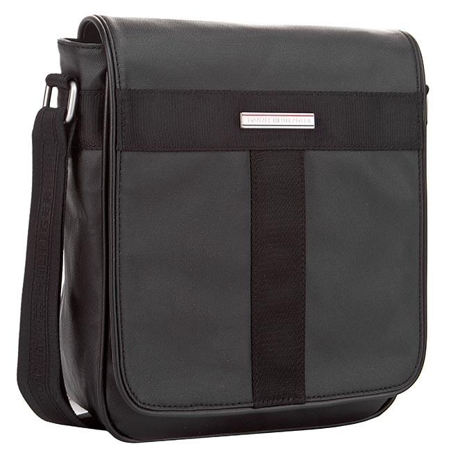 fdf6ee0ee38 Messenger Bag TOMMY HILFIGER - Darren Reporter W/Flap BM56927310 Black 990