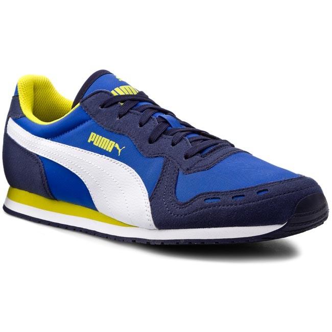 Sneakers PUMA - Cabana Racer Fun 358397 01 Peacoat White Strong Blue ... cec8609c9c