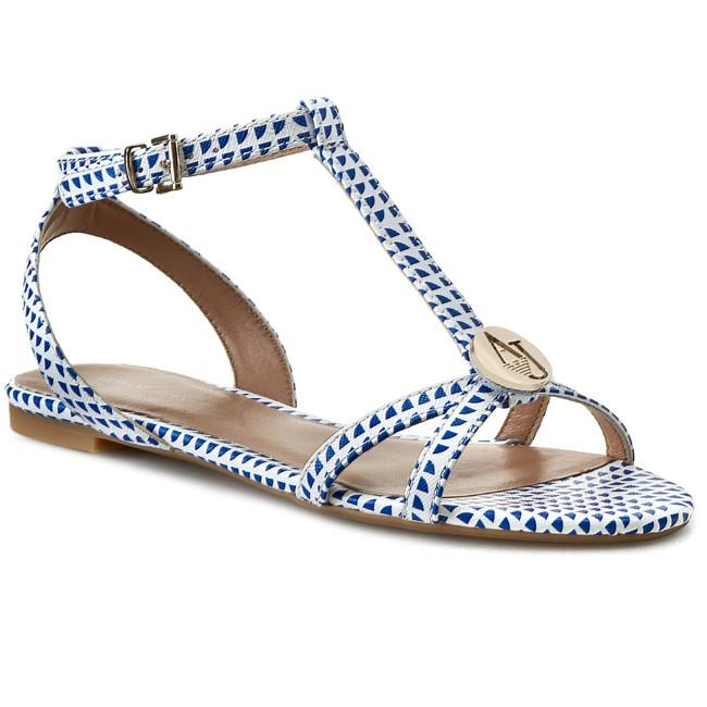 3bd1fb74573d Sandals ARMANI JEANS - A55E4 39 1D White - Casual sandals - Sandals ...