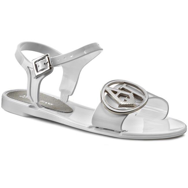 69bdc2219b01 Sandals ARMANI JEANS - A55F8 62 1D White - Casual sandals - Sandals ...