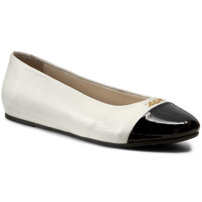 a52b3081617a Flats JOOP! - Anthea 4140001778 OffWhite - Ballerina shoes - Low ...