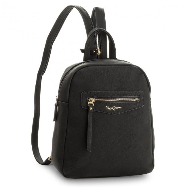 7f10e3ac5288e Backpack PEPE JEANS - Olivia Backpack PL120013 Black 999 - Backpacks ...