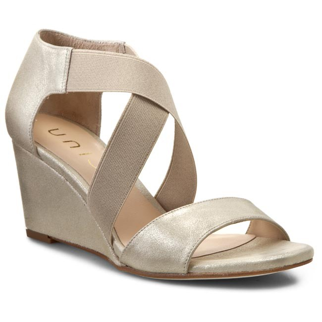 Sandals UNISA  Diana Mts Platino Metsde