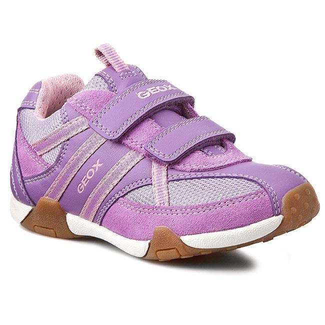 4136dbfbd4 Shoes GEOX - J Tale B J5221B 01122 C8020 Liliowy - Velcro - Low ...