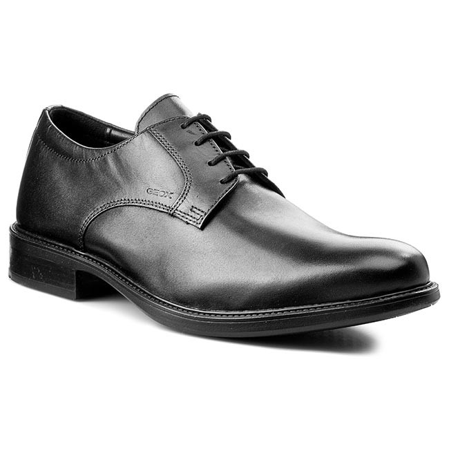 Geox U CARNABY D U52W1D Lace-up shoes in Black  W897884