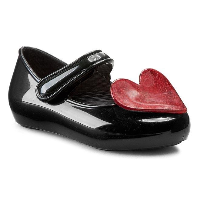 Zapatos Mel Par Melissa - Mel Bébé Frais Sp Bb 31546 Noir / Rouge 50965 9RQLfQOf