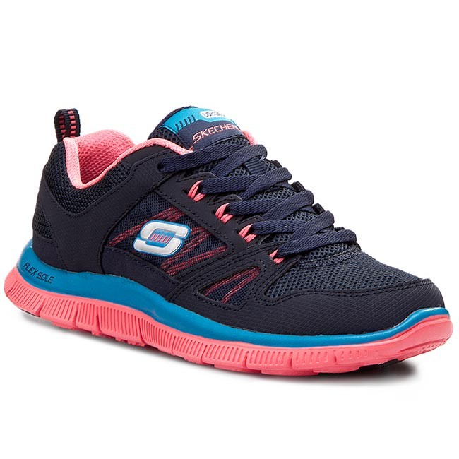 a8056708c550 Shoes SKECHERS - Flex Appeal Spring Fever 11727 NVCL Navy Coral ...