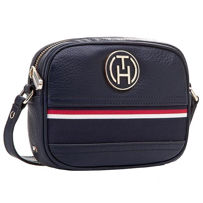 016105d9b398d Handbag TOMMY HILFIGER - Rosanna Mini Crossover AW0AW00603 Midnight ...