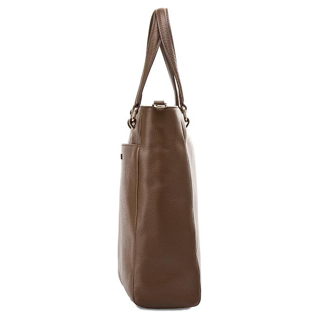350d39c942dc2 Handbag TOMMY HILFIGER - Natalia Small Ns Tote AW0AW00942 Wild Mushroom 236