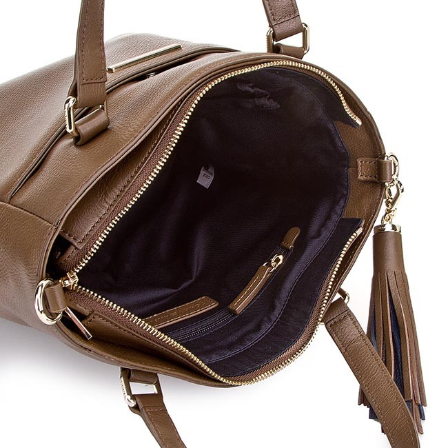 103e700d99d14 Handbag TOMMY HILFIGER - Natalia Small Ns Tote AW0AW00942 Wild Mushroom 236  - Classic - Handbags - www.efootwear.eu