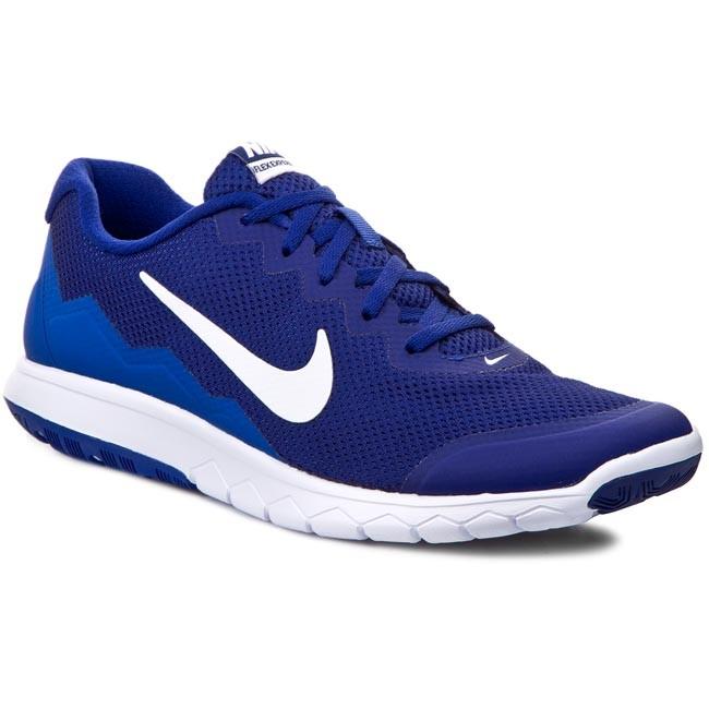 95ede21bbb3 Shoes NIKE - Flex Experience RN 4 749172 400 Deep Royal Blue White ...
