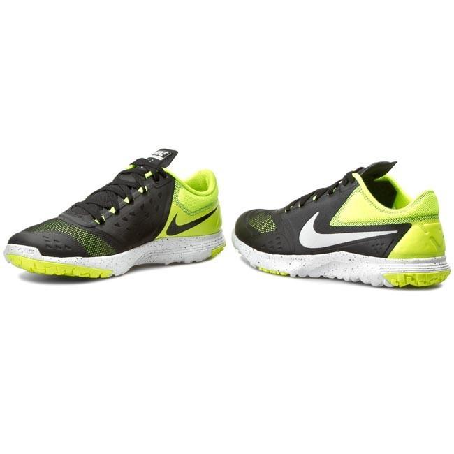 Shoes NIKE - Fs Lite Trainer II 683141 015 Black/Mtlc Platinum/Volt/