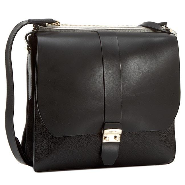 f9356b4e5bb554 Handbag FURLA - Flair 783040 B BEX1 FOC Onyx 001 - Cross Body Bags ...