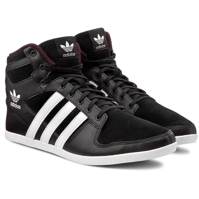 Shoes adidas - Plimcana 2.0 Mid S81671 Cblack/Ftwwht/Ngtred
