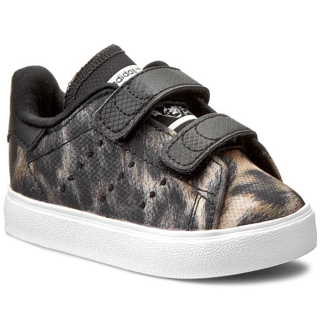 e328f2d5821 adidas stan smith kids Black 868534 adidas   stan smith vulc b24613 cblack ftwwht ftw c tki bk 01