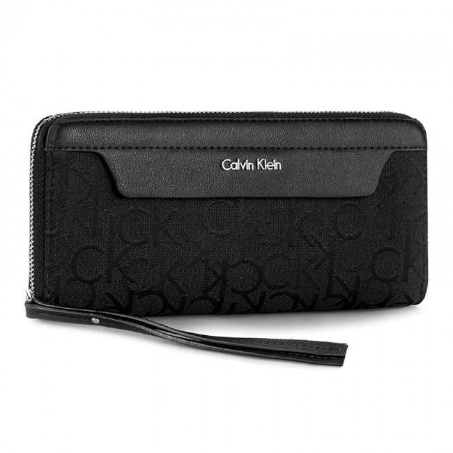 Large Zip-Around Wallet Calvin Klein j9ihtqxsc