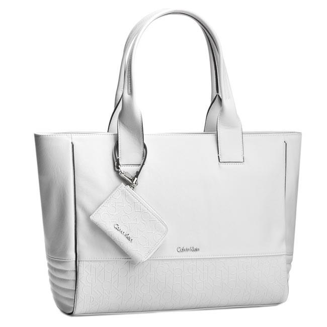 62500b360b Handbag CALVIN KLEIN JEANS - Maddie Plus Large Ew Tote K60K601533 ...