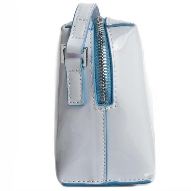 Handbag CALVIN KLEIN JEANS - Flow Mini Crossover K60K601563 White ... 87e6076049c