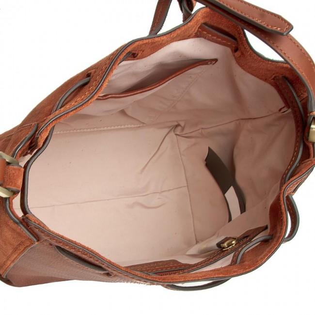 Handbag CALVIN KLEIN K3yla Suede Bucket Bag K60K602343 226
