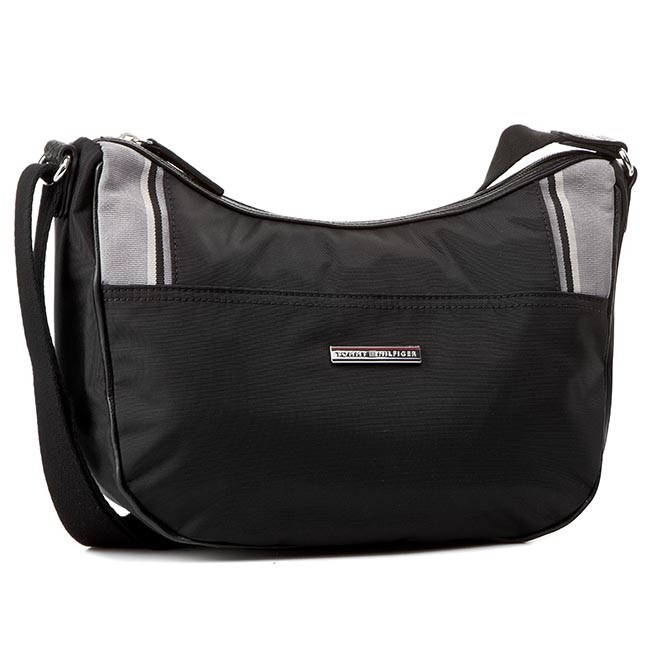 Handbag TOMMY HILFIGER - Pamela Medium Crossover AW0AW00749 Black ... e953a0bda4