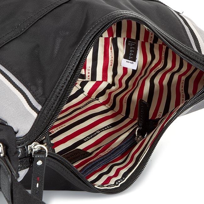 Handbag TOMMY HILFIGER - Pamela Medium Crossover AW0AW00749 Black 002 -  Cross Body Bags - Handbags - www.efootwear.eu ad7f3c2003