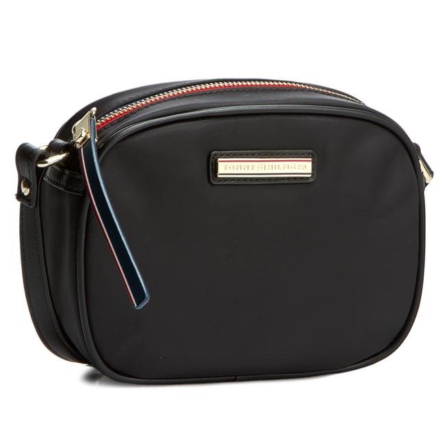 a6f7f8c56939 Handbag TOMMY HILFIGER - Poppy Mini Crossover AW0AW02032 Black 002 ...