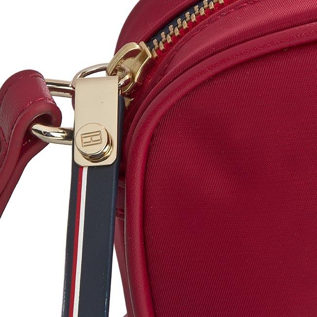 8c0377b53876 Handbag TOMMY HILFIGER - Poppy Mini Crossover AWA0AW02032 Scooter Red 623