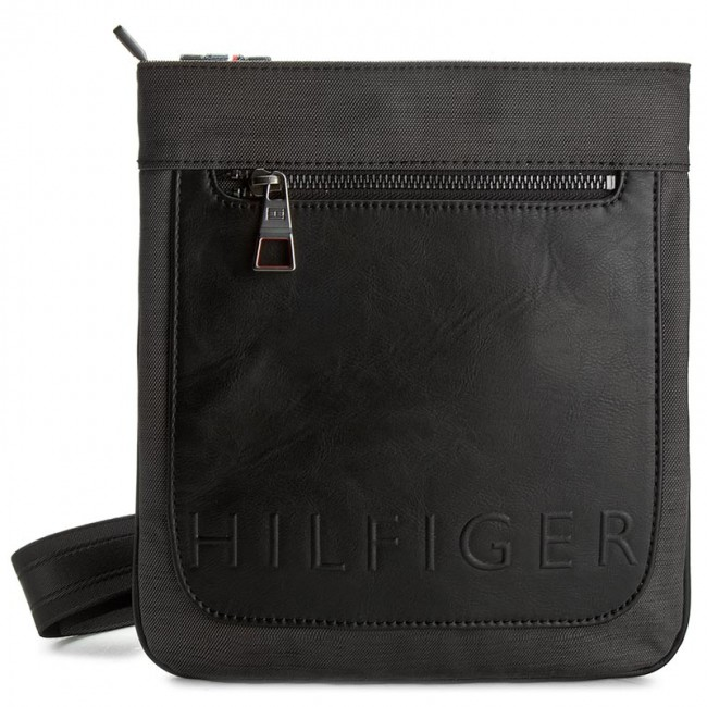 Messenger Bag TOMMY HILFIGER - Th Metropolitan Flat Crossover AM0AM01422 901